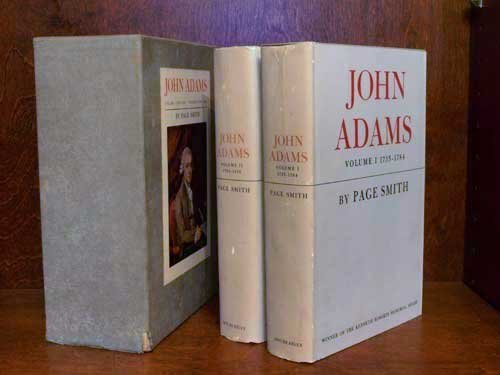 John Adams: 2 Volume Set in Slipcase, Smith, Page
