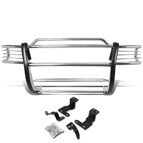 DNA MOTORING GRILL-G-017-SS Front Bumper Brush Grille Guard