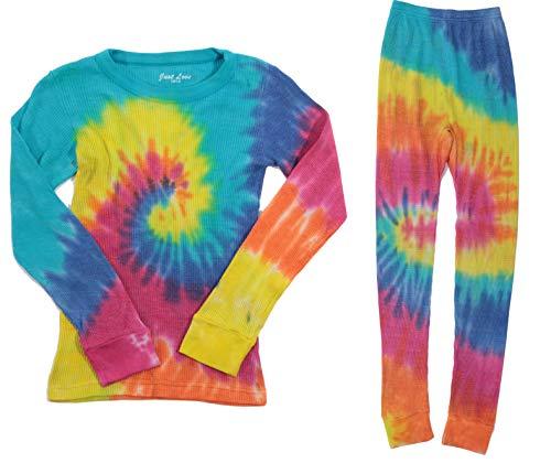 (Just Love Girls Tie Dye Two Piece Thermal Underwear Set 95461-10364-4)
