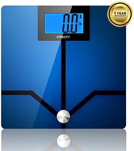 Etekcity Etekfit 11lb-400lb Digital Bluetooth Body Fat BMI Weight Bathroom Scale (Certified Refurbished)