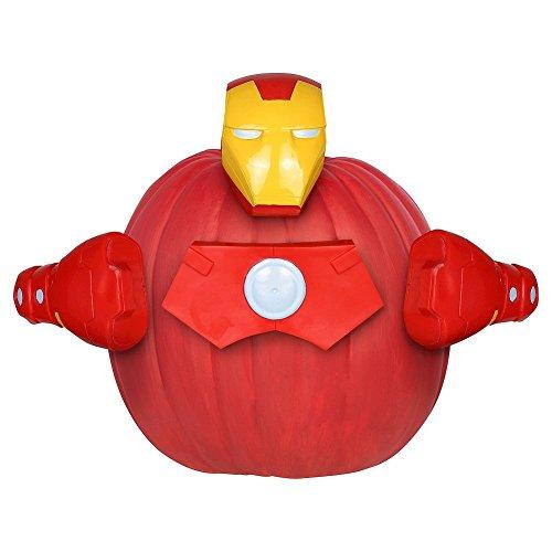 Avengers Iron Man Pumpkin Decorating (Avengers Pumpkin)