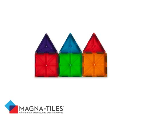 Magna Tiles Clear Colors 100 Piece Set Buy Online In Uae