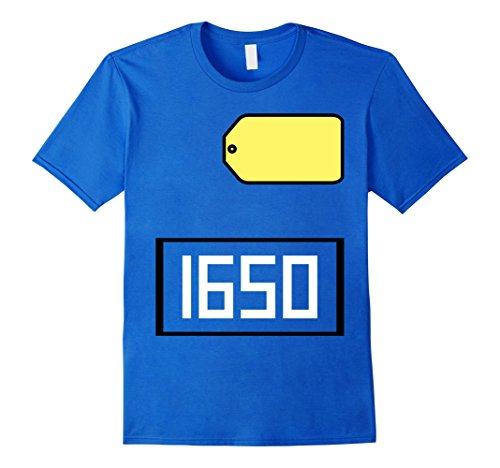Mens Game Show Group Halloween Costume T-Shirt Medium Royal Blue (Unique Halloween Costumes On A Budget)