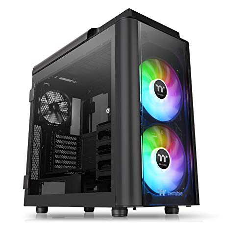 Thermaltake Level 20 GT Black Edition Tempered Glass ARGB Full Tower PC Case, CA-1K9-00F1WN-03
