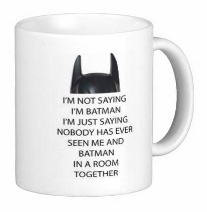 Not Saying Batman Mug Dishwasher product image