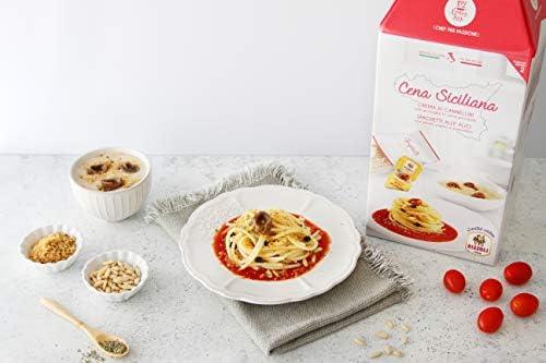 CENA SICILIANA My Cooking Box x2 Porzioni – Per una serata tra amici, una cena romantica o come idea regalo originale. Stupisci i tuoi cari per Natale!