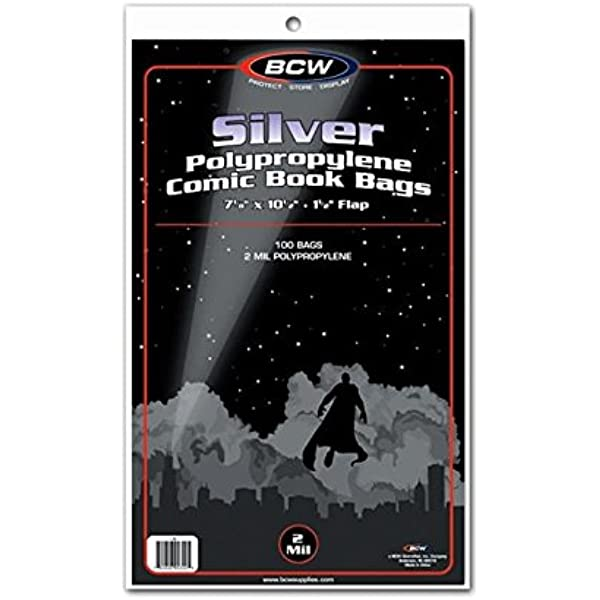 BCW Backing Boards Silver 7 x 10 1//2