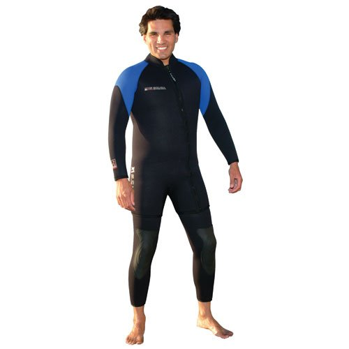XS scuba-neoprene – Pyrostretch wetsuits-suit-7 mmメンズPyro combo-scuba &シュノーケルダイビング B000T5PUMO 4X-Large