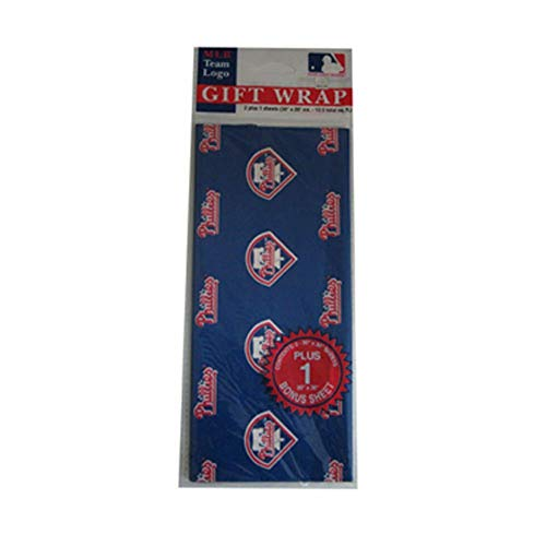 MLB Philadelphia Phillies Wrapping Paper - Mlb Com Phillies