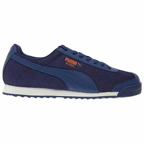 Puma Mens Roma Engineer Camou Limoges / Vermillion Orange Sneaker 7.5 D (m)