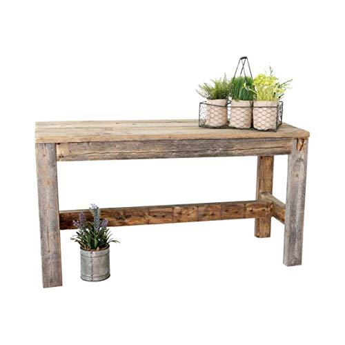 Barnwood Bench by Del Hutson Designs (Natural Barnwood)