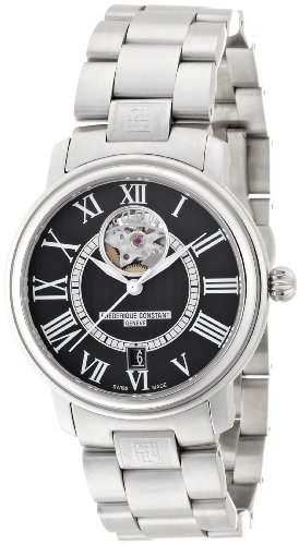 Frederique Constant Path Rays Tion Heartbeat Date Round Men Watch FC-315BS3P6B