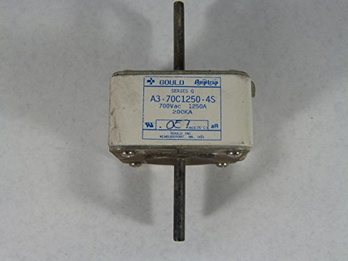 Gould Amp-Trap A3-70C1250-4S Series Q Square Body Fuse 1250A 700VAC