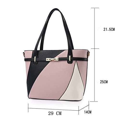 Fille Casual Travail Classique a a dos YYF Sac Sac bandouliere Main Wine Femme Sac 57txtP6