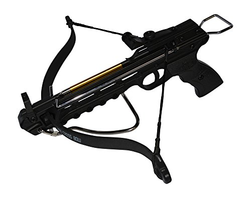 Rogue-River-Tactical-80lbs-80-Pound-Pistol-Crossbow-with-Arrow-Holder-w3-Cross-Bow-Bolts-Arrows-