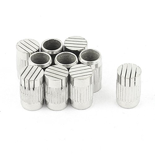 DealMux 10Pcs Mould Parts Stainless Steel Slotted Type Core Box Vents 6mmx10mm