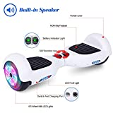 LIEAGLE Hoverboard Self Balancing Scooter Bluetooth Speaker Hover Board for Kids Adults with UL2272 Certified, Wheels LED Lights