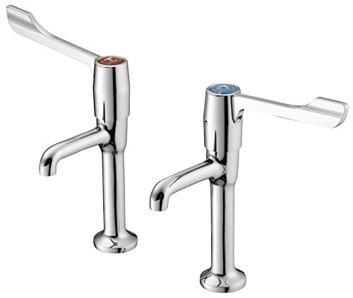 Lever High Neck (Armitage Shanks S8265AA Markwik two lever high neck tap pair by Markwik)