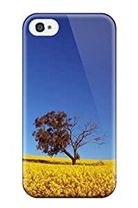 New CharlesRaymondBaylor Super Strong Field Tpu Case Cover For Iphone 4/4s