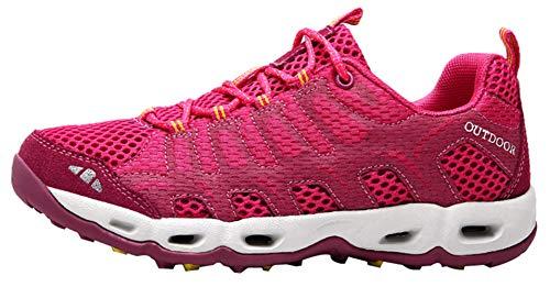 Montagne Baskets Insun Chaussures Randonnée Printemps Femme Rose Marche Rouge Été De Sport wHw0ZSpq