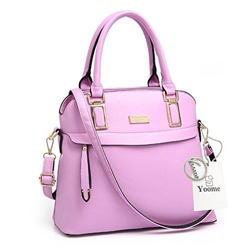Sacchetti eleganti per la borsa della borsa della borsa del sacchetto della borsa della borsa delle donne di Yoome Street Style - Rosa