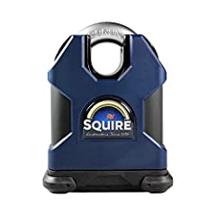 Henry Squire Solid Hardened Steel Padlock combines compact design with market leading product performance in the 50mm version, while the 65mm are tested to the highest CEN grades 5 & 6. All models are designed to resist the harshest of at...