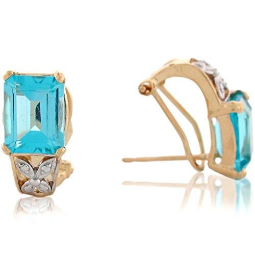 Gold Toned Clip Earrings - 2