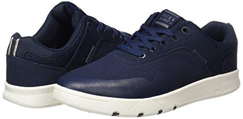 Navy Textile Para Hombre Jack Jones Blazer Azul amp; navy Blazer Jfwhoughton Zapatillas qwx7IC6