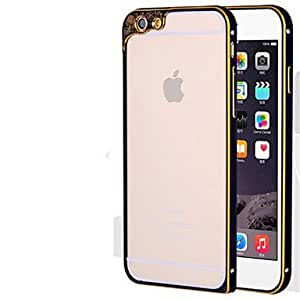 YULIN Frosted Metallic Bumper Frame for iphone 6 , Black