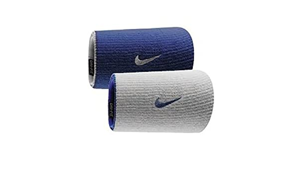Nike Dri-Fit Home & Away Doublewide Wristbands (1 Pair, One ...