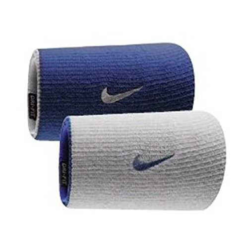 NIKE Dri Fit Double Wide Wristbands