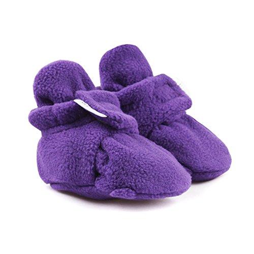 Infant Toddler Booties Velcro Warm Fleece Baby Booties Shoes