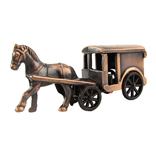 1:48 Scale O Gauge Model Train Accessory Amish Horse And Buggy Pencil Sharpener