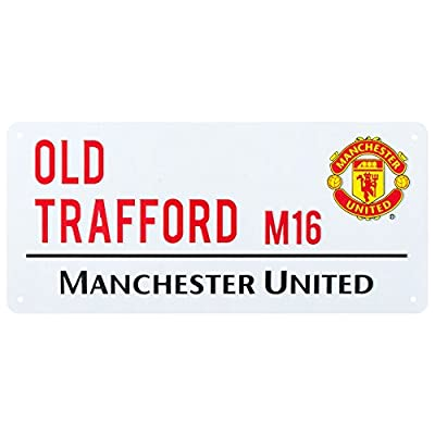 Manchester United Street Sign (40cm x 18cm)