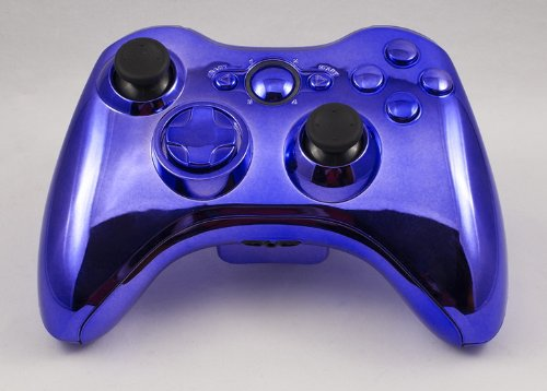 Chrome Purple Xbox 360 Modded Controller COD MW3, Black Ops 2, MW2, Rapid fire mod (Modded 360 Xbox Controller Purple)