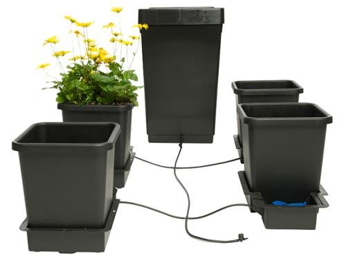 AutoPot 4pot System Gravity Fed Watering System. Hydroponics and Traditional Gardening ()