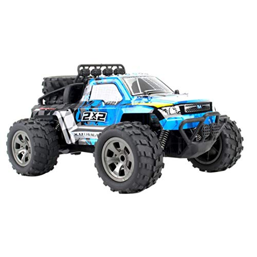 Remote Control Car,off - road vehicle, off-road performance,Shock Absorption System, Durable off-road tires,Stable Runing ,Amayzing Fast,Anti-skid, Best Gift Collection Contests Decoration (Blue)