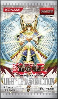 YuGiOh GX CCG Light of Destruction Booster Pack [Toy] [Toy]: Amazon.es: Juguetes y juegos