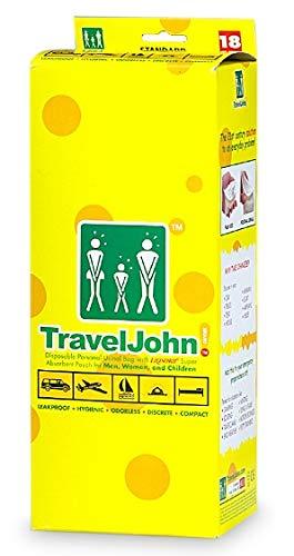 Travel John Disposable Vomit/Urine Bag for Adults 24 Pack - CZBM