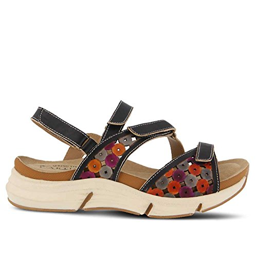Sandals Mid L'Artiste Spring Women's Multi Black Sustavre Heel by Step C0wxxXq1