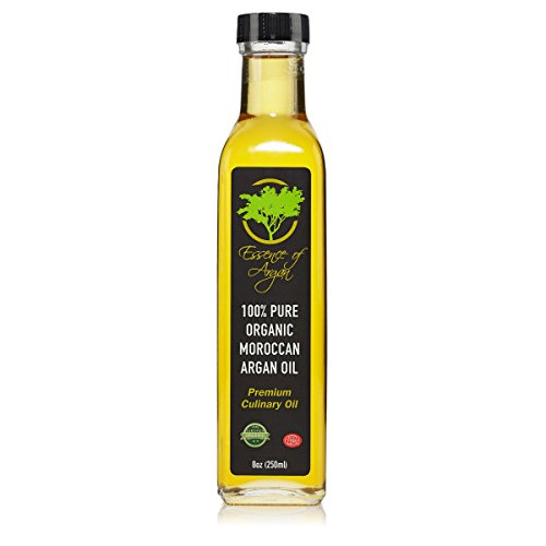 Argan Oil for Cooking – Organic and Natural 250ml (8oz) by  Essence Of Argan