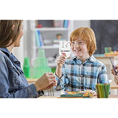 FaCraft Alphabet Flash Cards for 3+ Years Kids to Learn & Test at Home/School: Office Products