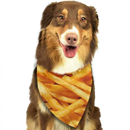 BAGT Dog Bandana Christmas Costume Pet French Fries Scarf Cat Bandana for -