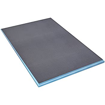 Wedi fundo ligno curbless shower base with center drain - Wedi fundo shower pan ...