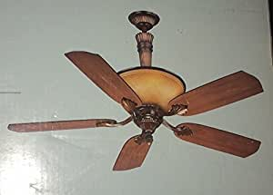 Hampton Bay Ansley 52 In Aged Bronze Ceiling Fan Ceiling