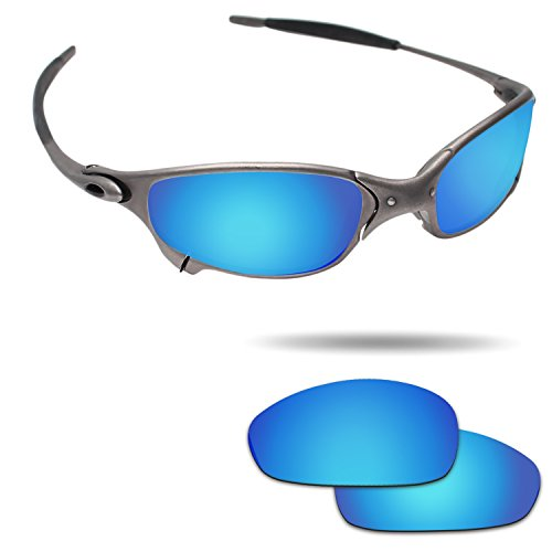 Fiskr Anti-saltwater Polarized Replacement Lenses for Oakley Juliet Sunglasses - Various Colors