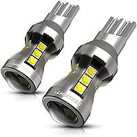 SEALIGHT T16 T15 LED バックランプ 高輝度 1200ルーメンキャンセラー内蔵 後退灯 バックライト ホワイト LED 18連3030SMD 無極性 12V 50000時間以上寿命 2年保証 (2個入り)