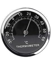 QERMULA Mini 58mm Auto Thermometer Mechanische Analoge Temperatuurmeter met Pasta Sticker Thermometer