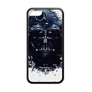 New Fashion Handsome Domineering Skull Star Wars Iphone 5c Case Shell Cover (Laser Technology) wangjiang maoyi