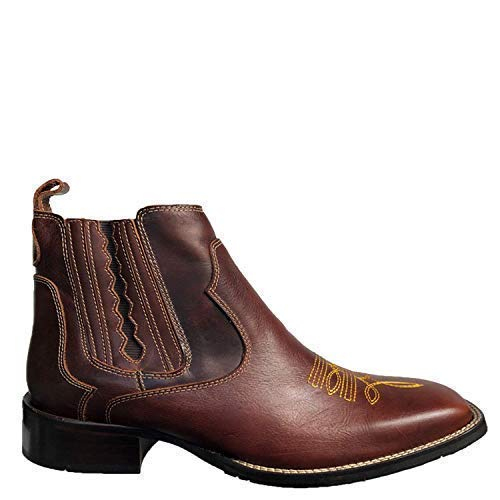 Handmade Men/'s Brown Leather motorcycle boots Men brown work boots Mens boots